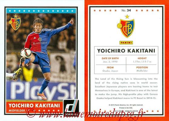 2015 - Panini Donruss Soccer - N° 034 - Yoichiro KAKITANI (FC Basel 1893)