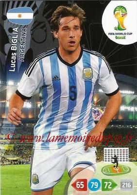 2014 - Panini FIFA World Cup Brazil Adrenalyn XL - N° 011 - Lucas BIGLIA (Argentine)