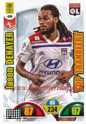 2018-19 - Panini Adrenalyn XL Ligue 1 - N° 499 - Jason DENAYER (Lyon) (Top Transfert)