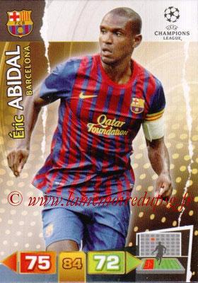 2011-12 - Panini Champions League Cards - N° 027 - Eric ABIDAL (FC Barcelone)