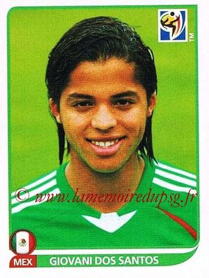 2010 - Panini FIFA World Cup South Africa Stickers - N° 061 - Giovani DOS SANTOS (Méxique)