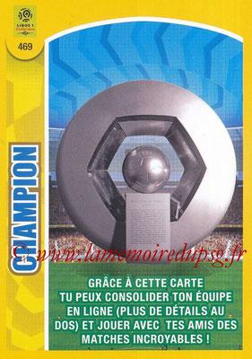 2018-19 - Panini Adrenalyn XL Ligue 1 - N° 469 - Champion