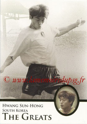 2013 - Futera World Football Unique - N° 117 - Hwang SUN-HONG (Corée du Sud) (The Greats)