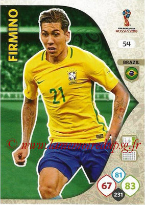 2018 - Panini FIFA World Cup Russia Adrenalyn XL - N° 054 - Dani ALVES (Brésil)