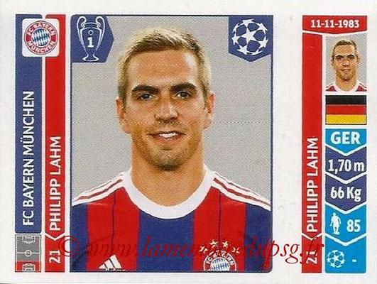2014-15 - Panini Champions League N° 346 - Philipp LAHM (FC Bayern Munich)