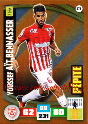 2016-17 - Panini Adrenalyn XL Ligue 1 - N° 375 - Youssef AIT BENNASSER (Nancy) (Pepite)