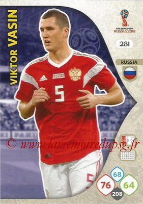 2018 - Panini FIFA World Cup Russia Adrenalyn XL - N° 281 - Viktor VASIN (Russie)