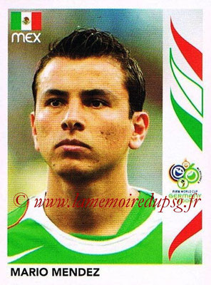 2006 - Panini FIFA World Cup Germany Stickers - N° 248 - Mario MENDEZ (Méxique)