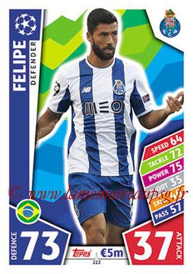 2017-18 - Topps UEFA Champions League Match Attax - N° 222 - FELIPE (FC Porto)