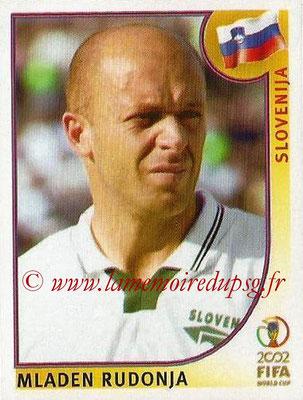 2002 - Panini FIFA World Cup Stickers - N° 130 - Mladen RUDONJA (Slovénie)