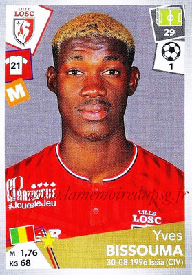 2017-18 - Panini Ligue 1 Stickers - N° 169 - Yves BISSOUMA (Lille)