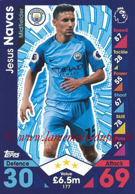 2016-17 - Topps Match Attax Premier League - N° 177