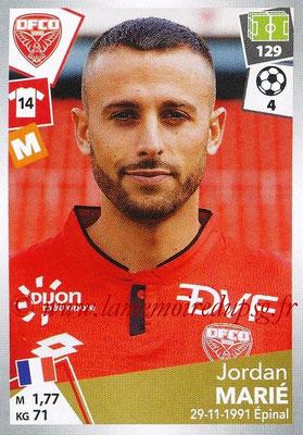 2017-18 - Panini Ligue 1 Stickers - N° 118 - Jordan MARIE (Dijon)