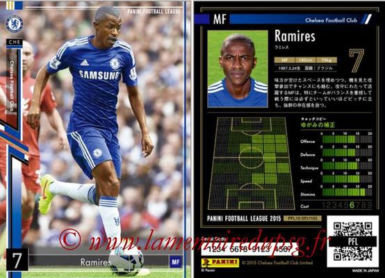 Panini Football League 2015 - PFL10 - N° 051 - RAMIRES (Chelsea FC)