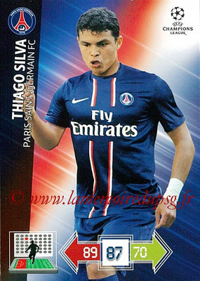 2012-13 - Adrenalyn XL champions League N° 208 - Thiago SILVA (Paris Saint-Germain)