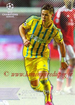 2015-16 - Topps UEFA Champions League Showcase Soccer - N° 075 - Georgi ZHUKOV (FC Astana)