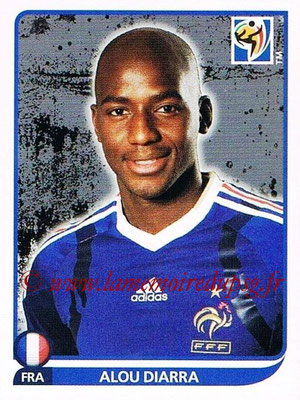 2010 - Panini FIFA World Cup South Africa Stickers - N° 097 - Alou DIARRA (France)