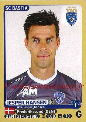2015-16 - Panini Ligue 1 Stickers - N° 050 - Jesper HANSEN (SC Bastia)