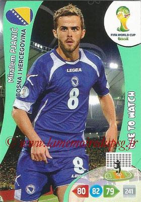 2014 - Panini FIFA World Cup Brazil Adrenalyn XL - N° 043 - Miralem PJANIC (Bosnie-Herzegovine)