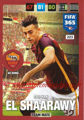 2016-17 - Panini Adrenalyn XL FIFA 365 - N° 223 - Stephan EL SHAARAWY (AS Roma)