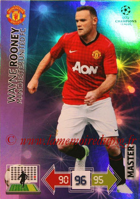 2012-13 - Adrenalyn XL champions League N° 338 - Wayne ROONEY (Manchester United FC) (Master)