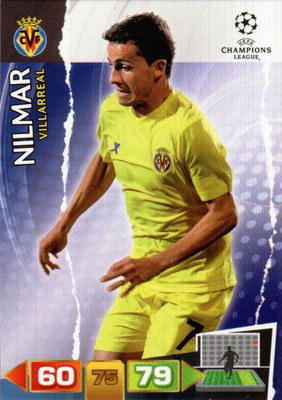2011-12 - Panini Champions League Cards - N° 264 - NILMAR (Villarreal)