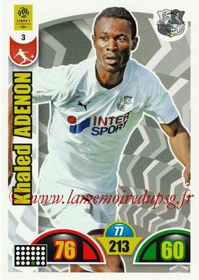 2018-19 - Panini Adrenalyn XL Ligue 1 - N° 003 - Khaled ADENON (Amiens)