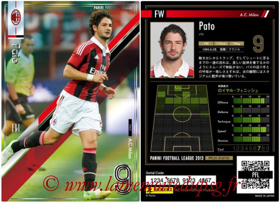 Panini Football League 2013 - PFL01 - N° 010 - Pato ( A.C. Milan )