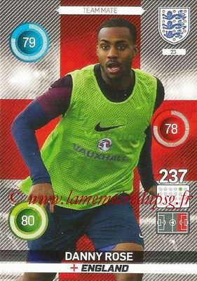 Panini England 2016 Adrenalyn XL - N° 023