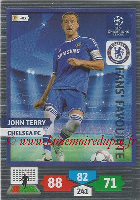 2013-14 - Adrenalyn XL champions League N° 300 - John TERRY (Chelsea FC) (Fans' Favourite)