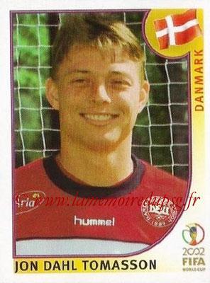 2002 - Panini FIFA World Cup Stickers - N° 093 - Jon Dahl TOMASSON (Danemark)