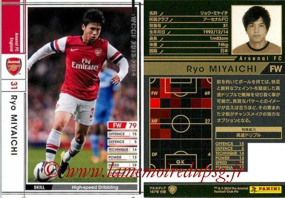 2013-14 - WCCF - N° EXT - Ryo MIYAICHI (Arsenal FC) (Extra)