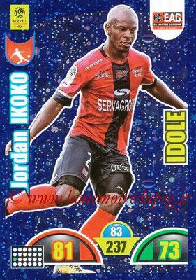 2018-19 - Panini Adrenalyn XL Ligue 1 - N° 371 - Jordan IKOKO (Guingamp) (Idole)