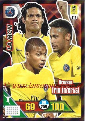 N° 517 - MBAPPE + CAVANI  + NEYMAR Jr. (La MCN)