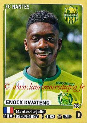 2015-16 - Panini Ligue 1 Stickers - N° 296 - Enock KWATENG (FC Nantes)