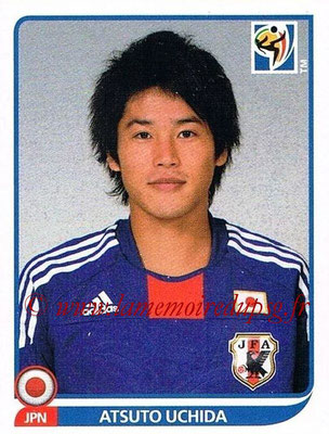 2010 - Panini FIFA World Cup South Africa Stickers - N° 378 - Atsuto UCHIDA (Japon)