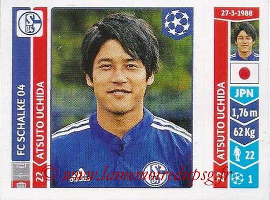 2014-15 - Panini Champions League N° 508 - Atsuto UCHIDA (FC Schalke 04)