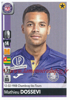 2018-19 - Panini Ligue 1 Stickers - N° 489 - Mathieu DOSSEVI (Toulouse)