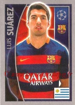 2015-16 - Topps UEFA Champions League Stickers - N° 315 - Luis SUAREZ (FC Barcelone)