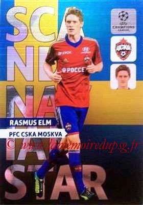 2013-14 - Adrenalyn XL champions League N° NE03 - Rasmus ELM (CSKA Moscou) (Scandinavian Star) (Nordic edition)