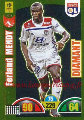 2018-19 - Panini Adrenalyn XL Ligue 1 - N° 408 - Ferland MENDY (Lyon) (Diamant)