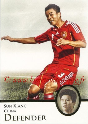 2013 - Futera World Football Unique - N° 032 - Sun XIANG (Chine) (Defender)