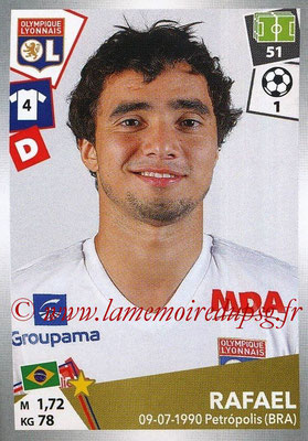 2017-18 - Panini Ligue 1 Stickers - N° 189 - RAFAEL (Lyon)
