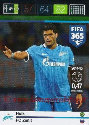 2015-16 - Panini Adrenalyn XL FIFA 365 - N° 223 - HULK (FC Zenith) (Goal Machine)