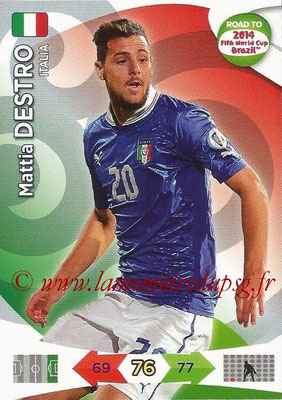 2014 - Panini Road to FIFA World Cup Brazil Adrenalyn XL - N° 126 - Mattia DESTRO (Italie)