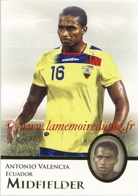 2013 - Futera World Football Unique - N° 061 - Antonio VALENCIA (Equateur) (Midfielder)