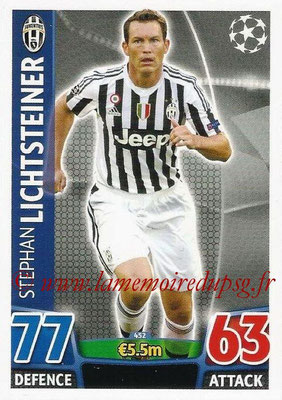 2015-16 - Topps UEFA Champions League Match Attax - N° 452 - Stephan LICHTSTEINER (Juventus FC)