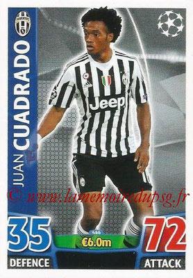2015-16 - Topps UEFA Champions League Match Attax - N° 466 - Juan CUADRADO (Juventus FC)