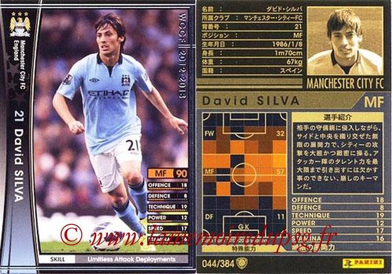 2012-13 - WCCF - N° 044 - David SILVA (Manchester City FC)