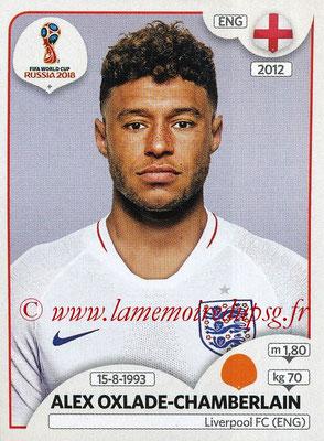 2018 - Panini FIFA World Cup Russia Stickers - N° 583 - Alex OXLADE-CHAMBERLAIN (Angleterre)